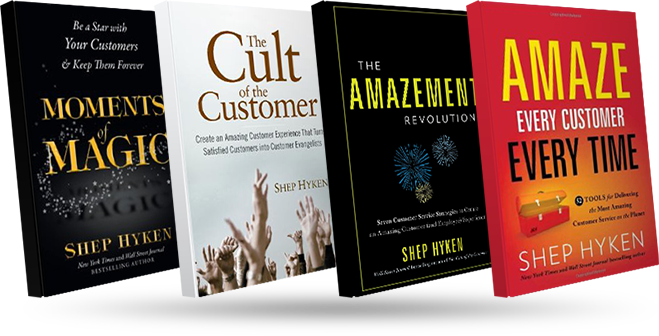 Shep's customer service books