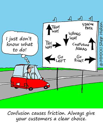 Avoid Customer Confusion