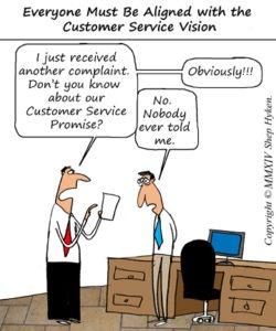 Align Customer Service Vision