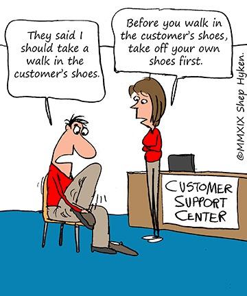 Walking In Your Customer's Shoes - Shep Hyken