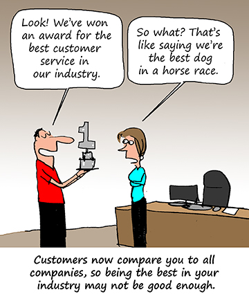 Are You Keeping Up with Your Customers? - Shep Hyken | Shep Hyken