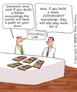 Build a Better Moustrap