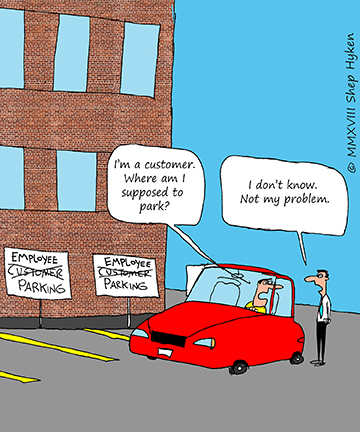 The Difference Between Customer Focus and… NOT - Shep Hyken | Shep Hyken