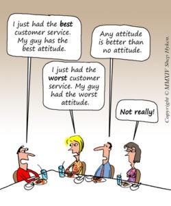 Customer Service Attitude