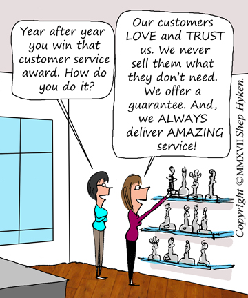 Four Customer Service Lessons From A Stevie Award Winner