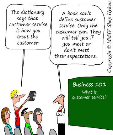 Def of Customer Service