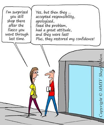 Five Steps for Handling Complaints