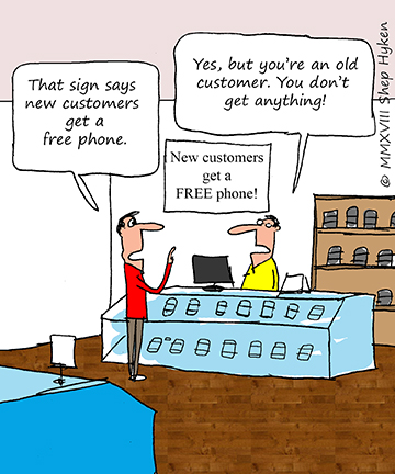 Treat Your Current Customers Better than Your New Customers - Shep Hyken | Shep Hyken