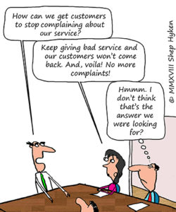 People Always Complain About That - Shep Hyken