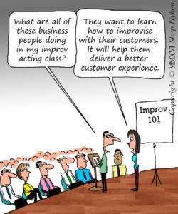 Improv for the Customer
