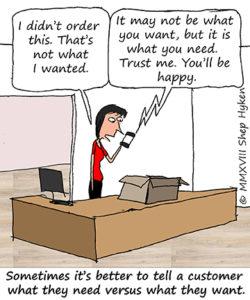 how to understand customer needs