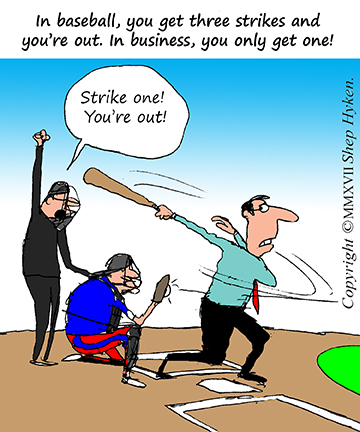 Strike One and You're Out! Five Ways to Ensure Your Customer Service Is a Hit