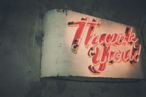 Guest Blog: Thank Your Customer With Actions Not Words - Shep Hyken